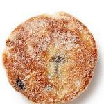 Валлийское печенье с клюквой на сковороде