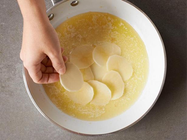 Картофель Анна с бататом