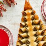 Хлебные палочки «Рождественская ель»