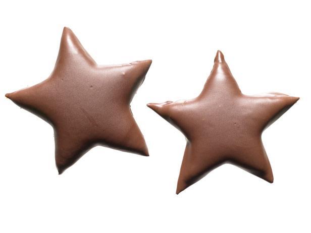 44. Шоколадно-мятные звезды