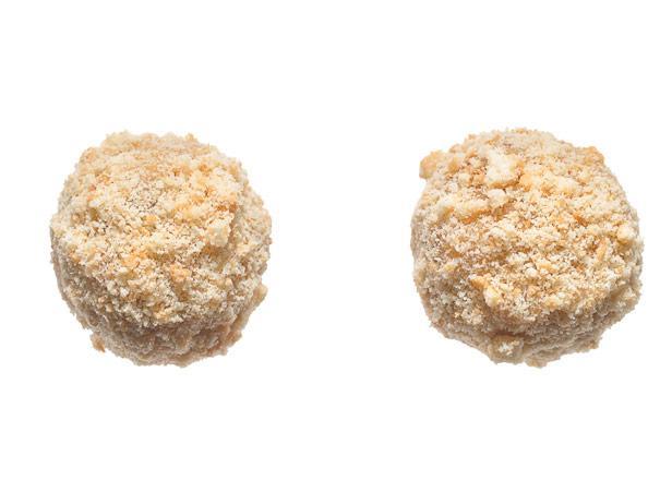 23. Ореховые шарики с печеньем