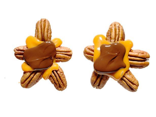 19. Пекан с шоколадом и карамелью