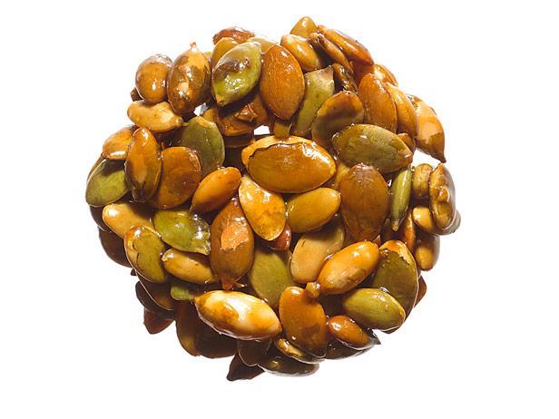 27. Конфеты из тыквенных семечек