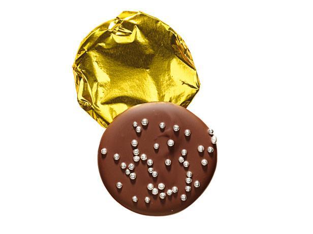 20. Шоколадные монеты