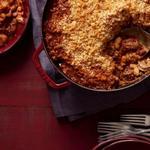 Кассуле с бараниной и колбасками