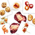 8 простых закусок из 3 ингредиентов