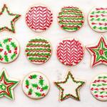 Как украсить сахарное печенье