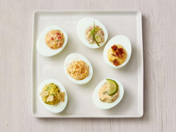 Фото Фаршированные яйца: рецепт-конструктор