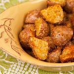Простой картофельный салат «Цезарь»