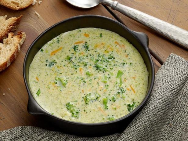 Фото Сырный суп с брокколи