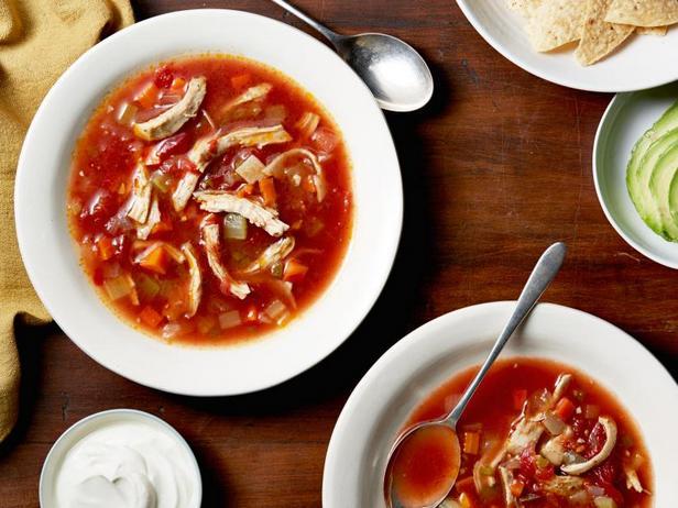 Фото Мексиканский куриный суп