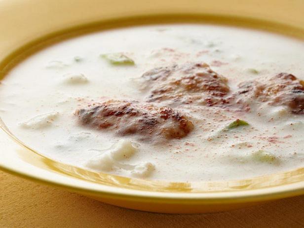 Фото Куриный суп с наггетсами