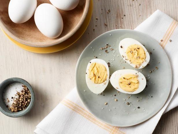Фото Вареные яйца в аэрогриле