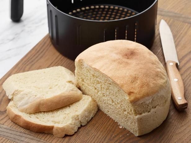 Белый хлеб в аэрогриле