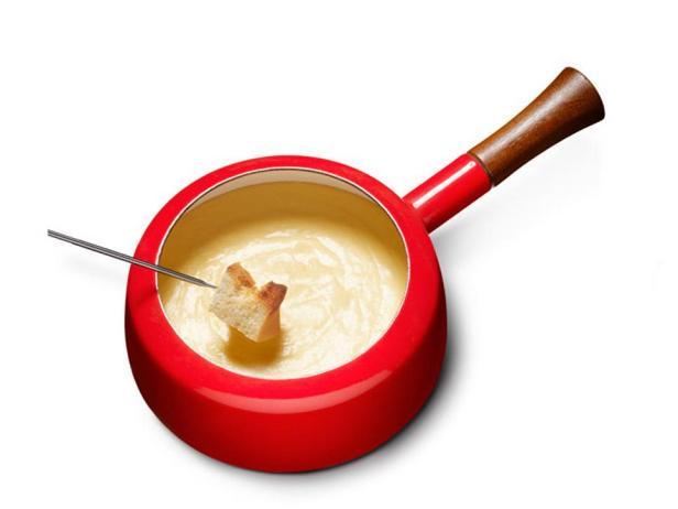 Классическое сырное фондю