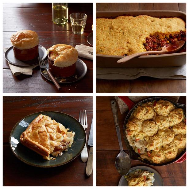 Фото 5 рецептов пирогов для обеда