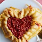 Лазанья на день Святого Валентина