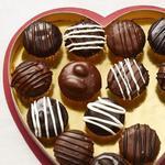 Коробка шоколадных конфет (мини-капкейки)