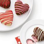 Мороженое в шоколадной глазури «Сердца»