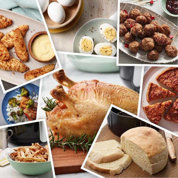 Фото Рецепты простых и вкусных блюд в аэрогриле (мультипечь)