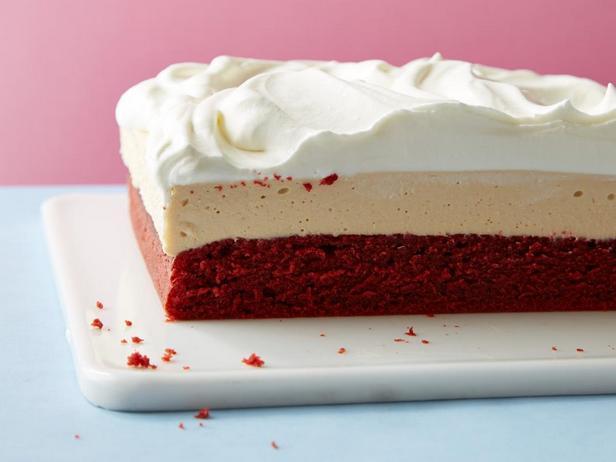 Чизкейк-пирожные «Красный бархат»