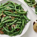 Классическая зелёная фасоль в сливочном масле