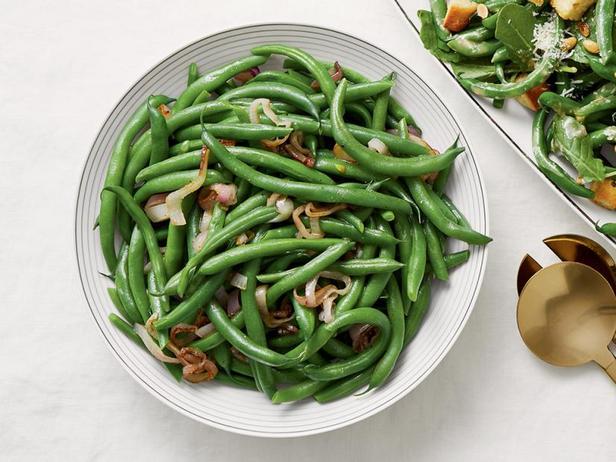 Фото Классическая зелёная фасоль в сливочном масле