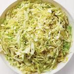 Салат из припущенной капусты