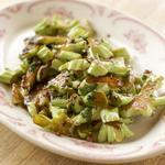 Стир-фрай из стеблей брокколи