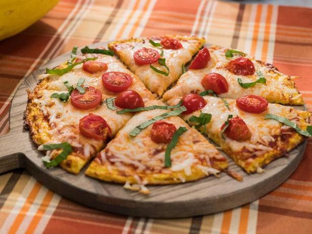 Фото Корж для пиццы из тыквы Спагетти