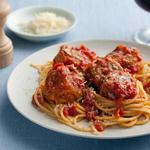 Спагетти с фрикадельками без мяса