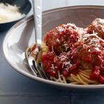Настоящие тефтели со спагетти