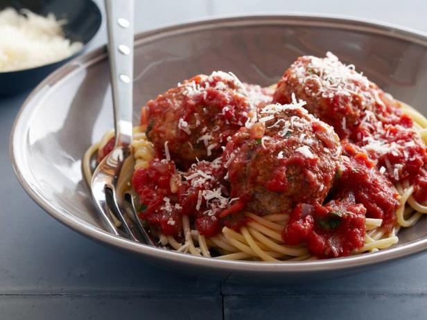 Фото Настоящие тефтели со спагетти
