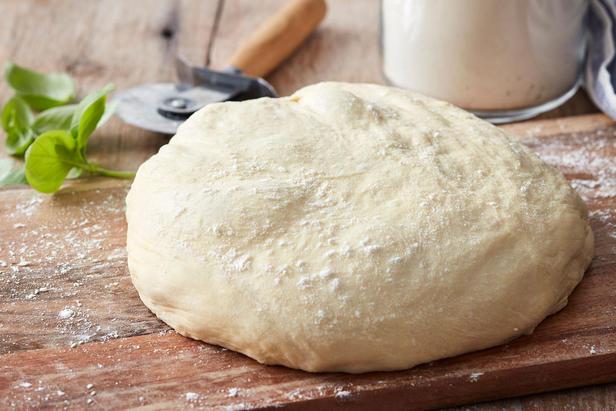 Фото Мягкое тесто для пиццы