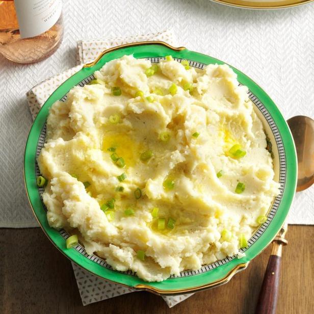 Картофельное пюре с моцареллой