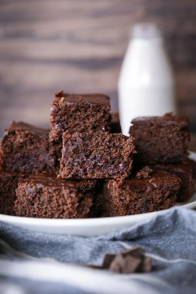 Фото Брауни с двойным шоколадом