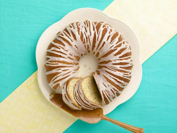 Лимонный кофейный кекс с маком