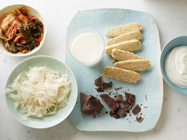 Фото Продукты для здорового пищеварения