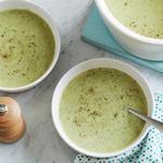 Молочный суп–пюре с брокколи