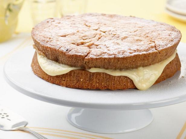 Торт из печенья с банановым пудингом