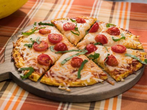 Корж для пиццы из тыквы Спагетти