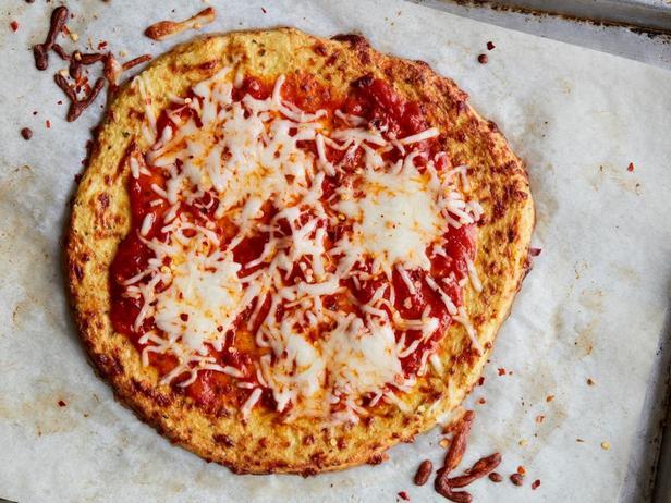 Овощная основа для пиццы из цветной капусты