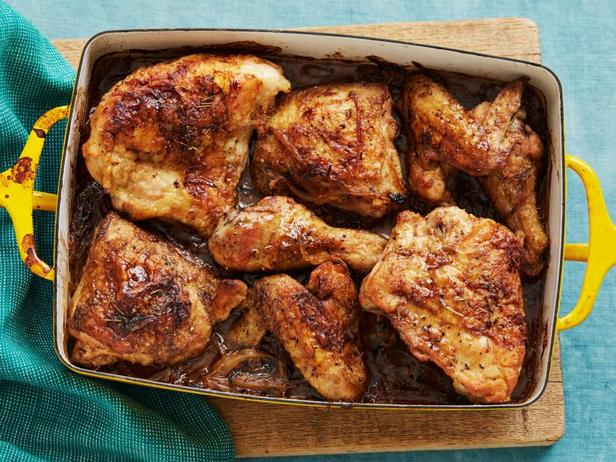 Фото Лимонная курица в духовке