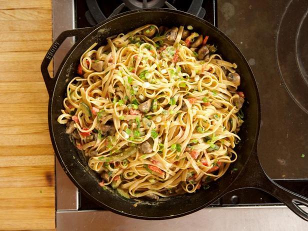 Фото Паста с овощами по-каджунски