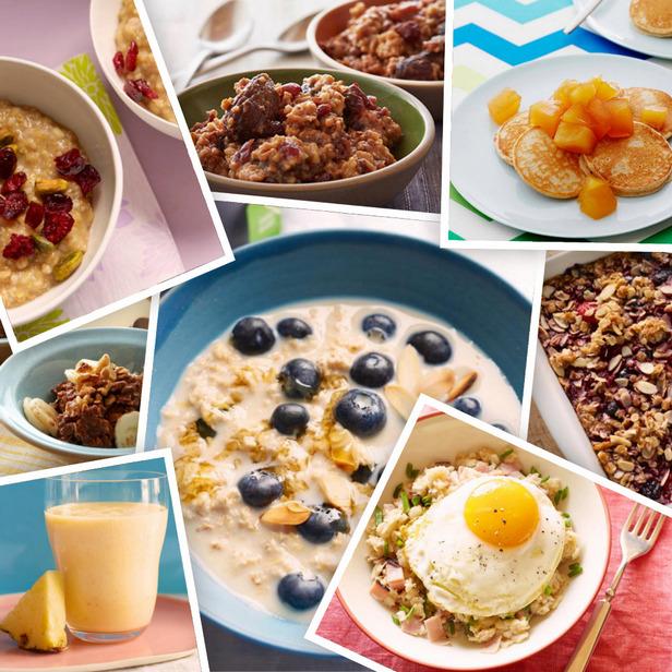 Здоровые блюда из овсяной крупы и хлопьев