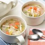 Лёгкий куриный суп с рисом