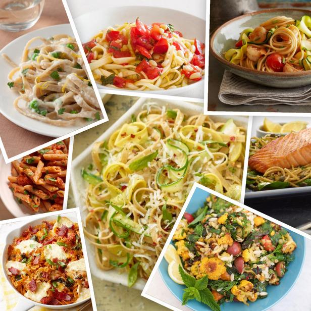 Фото Здоровые блюда из макарон