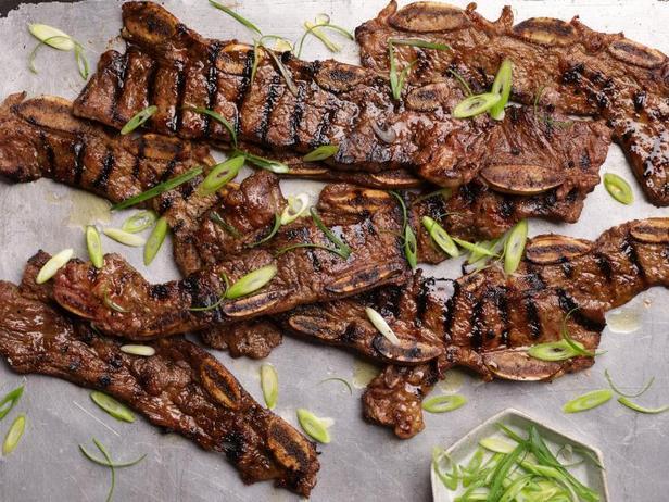 Фото Кальби: барбекю из говяжьих рёбер по-корейски