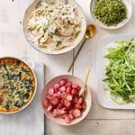 50 рецептов весенних гарниров