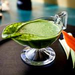 Заправка «Зелёная богиня» с авокадо